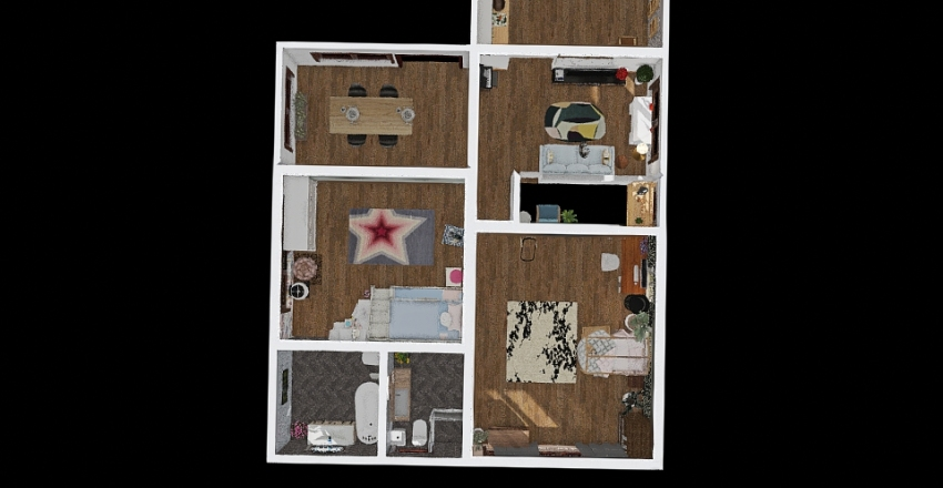 #1 - My Future/Dream House Interior Design Render
