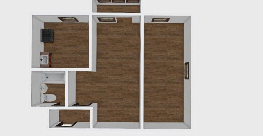 2-комн_001_50 Interior Design Render