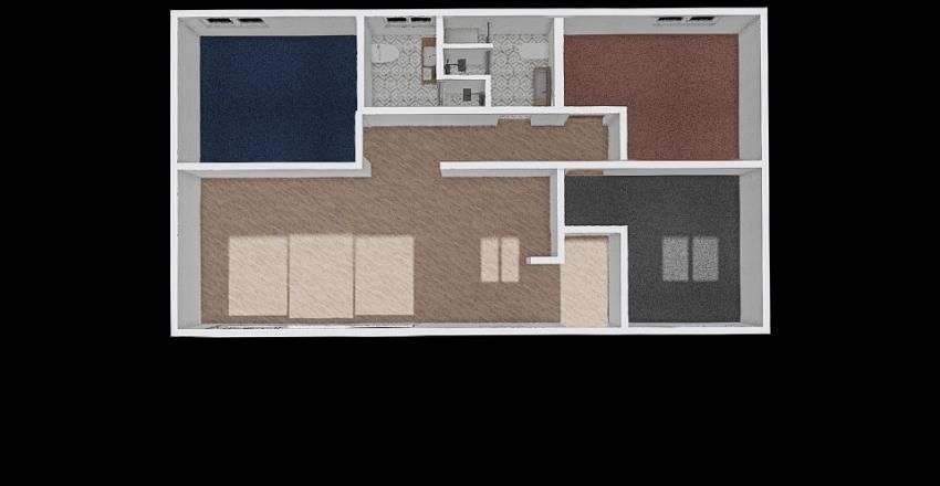 PRUEBA 3B Interior Design Render