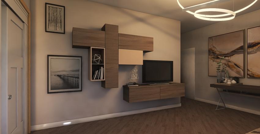 Casa a caso Interior Design Render