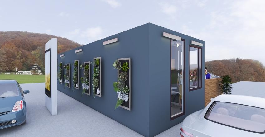 Coffee Shop 2.0 Interior Design Render