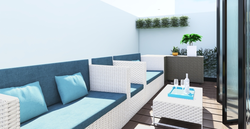 CASA 6 x 12 Interior Design Render