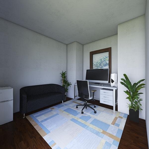 Andrew Mulhem - Basic Room Design  Interior Design Render