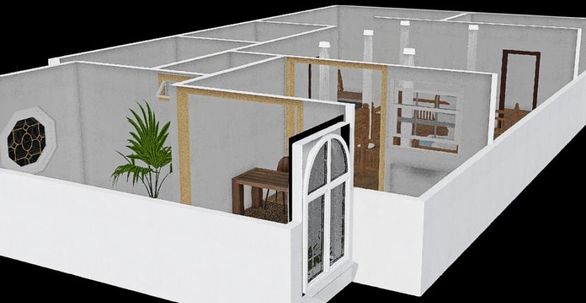 Remodelación bn inmaterial inmueble  Interior Design Render