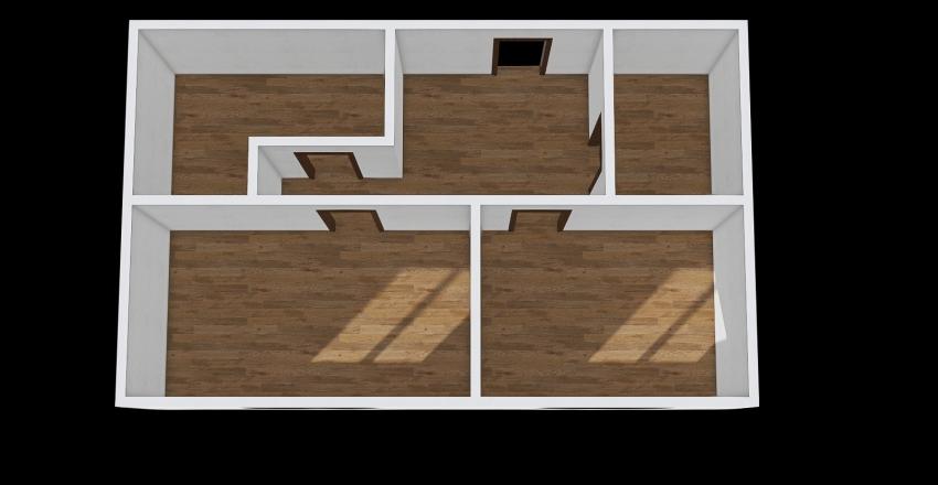 Lišková Interior Design Render