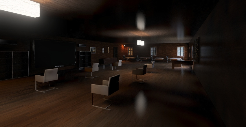 My perfect classroom Interior Design Render