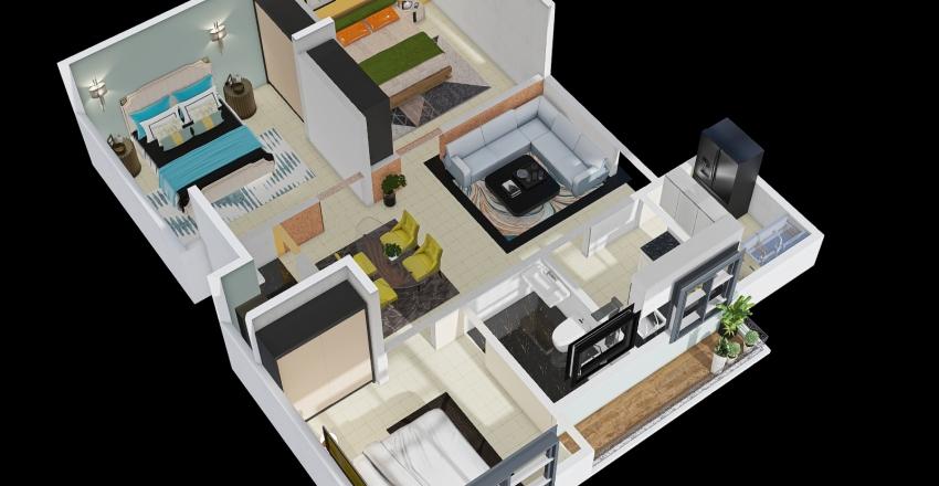 S FLOOR PLAN Interior Design Render