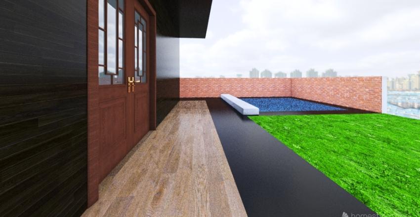 BUNGLOW 28X67 Interior Design Render