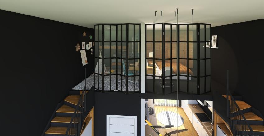 Camper Interior Design Render