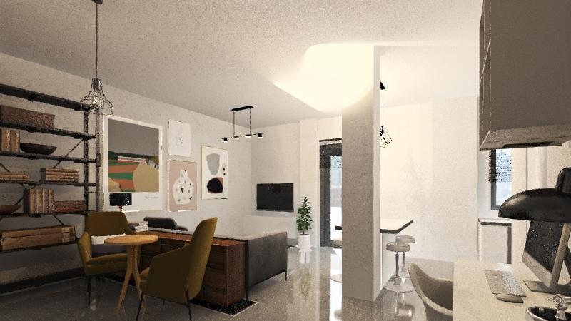 Agiou Meletiou 18 GF new1 Interior Design Render
