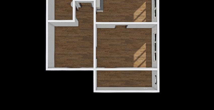 Nižna 2 50,5 m2 Interior Design Render