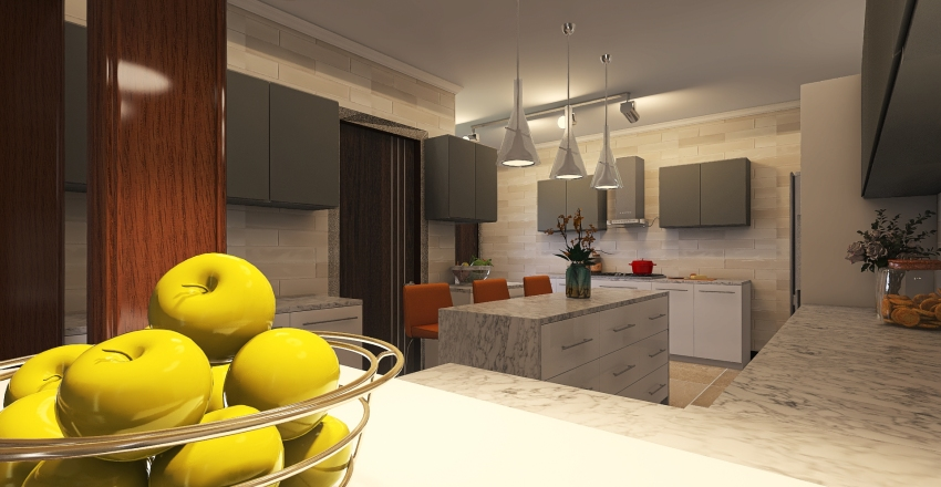 KITCHEN 6.10.2020 Interior Design Render