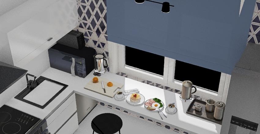 design version with living room from october 8 Interior Design Render