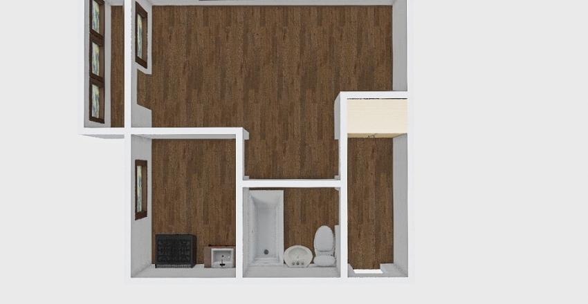 1-комн_018_24 Interior Design Render