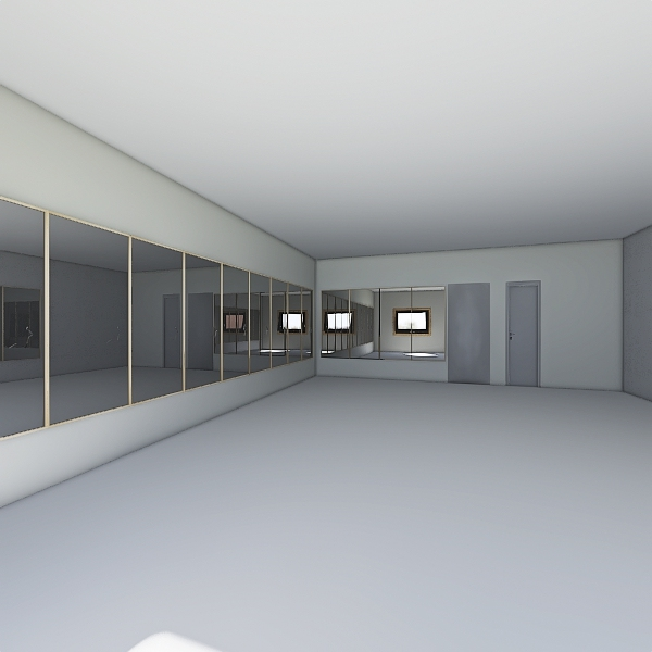 Estudio Dança Nijme Interior Design Render
