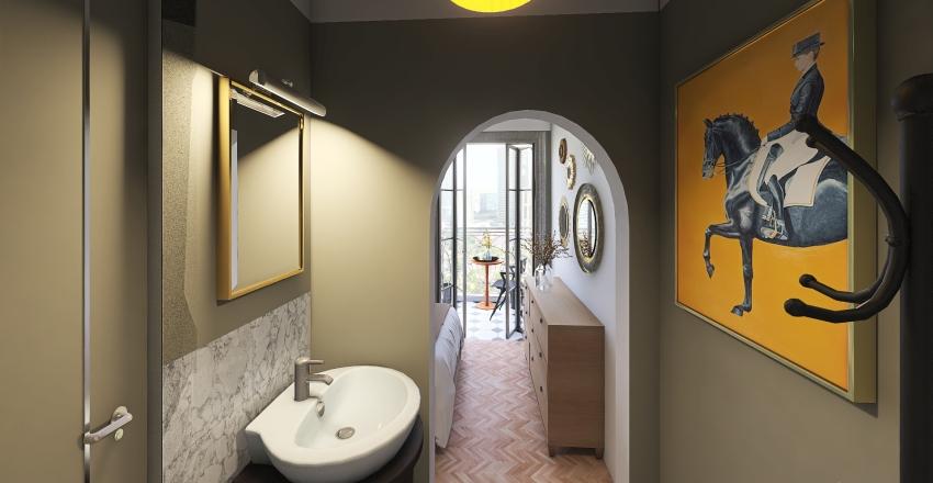 "#HSDA2020Commercial Hotel room ""Сalme de l'âme""  Interior Design Render"