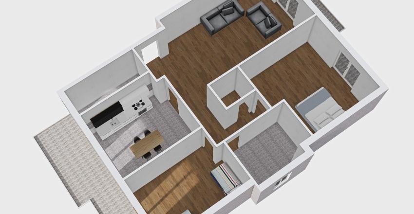 KATIA VIA BORREMANS Interior Design Render