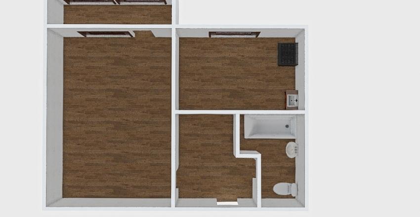 1-комн_0430 Interior Design Render