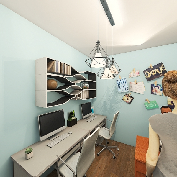 văn phòng Trang Interior Design Render
