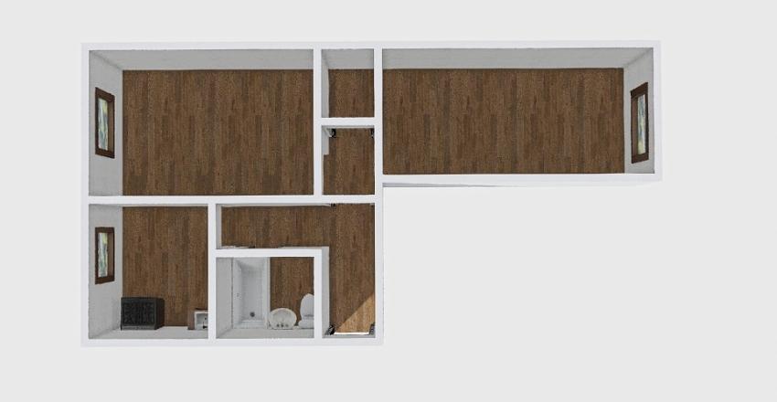 2-комн_038_22 Interior Design Render