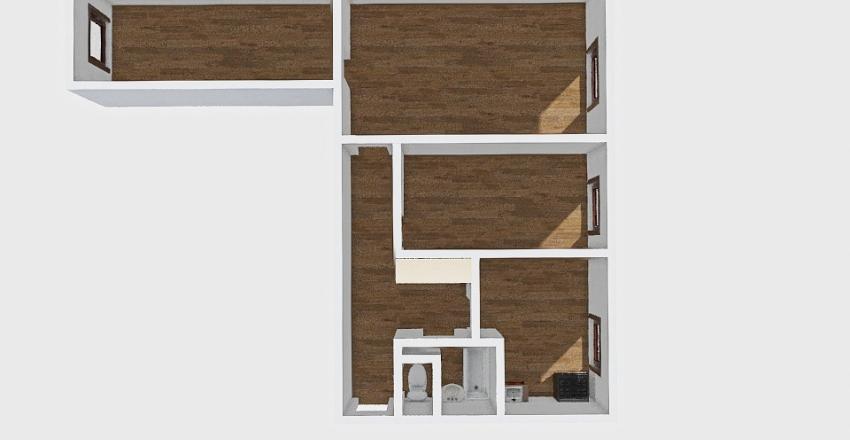 3-комн_0375 Interior Design Render