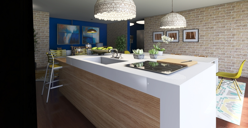 CLARISSE_QUARTO Interior Design Render