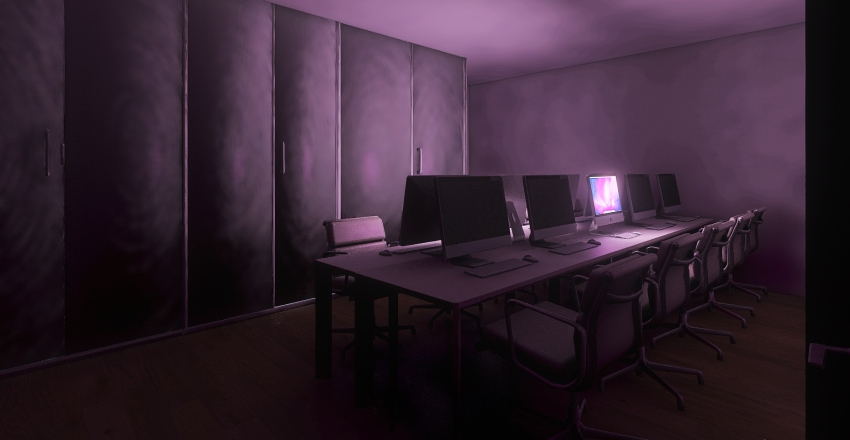 office 12 , 12A Interior Design Render