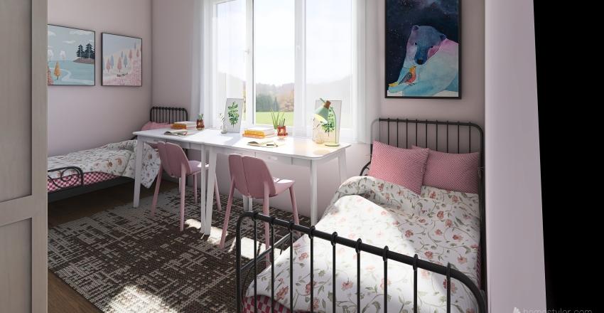 детс4кая Interior Design Render