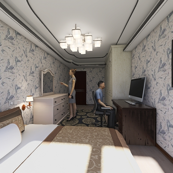 2 ЕТАЖ uzgatirganim  Interior Design Render