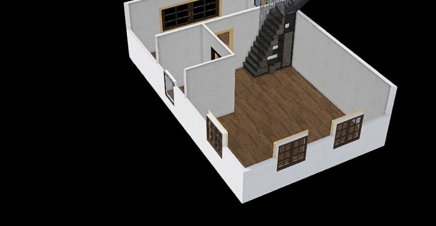 VASJA с лестницей 3 Interior Design Render