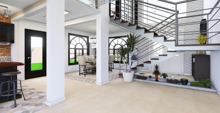 Loft Malvinas Interior Design Render