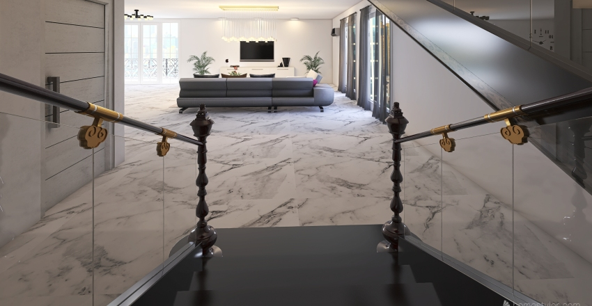 City living  Interior Design Render