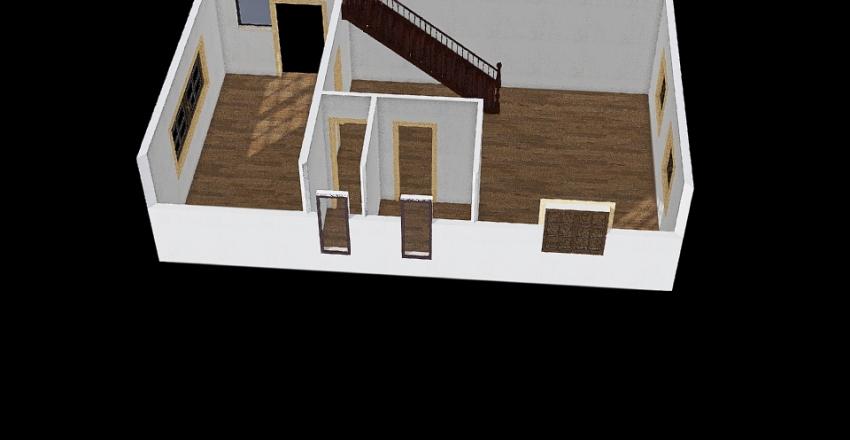 VASJA с лестницей 1  Interior Design Render