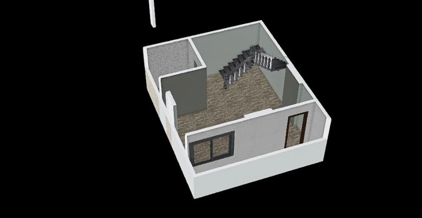 rebuild fam house Interior Design Render