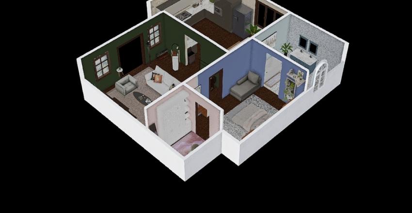 fun and bored Interior Design Render