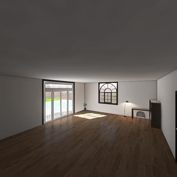 Dream bedroom for during remote learning Interior Design Render
