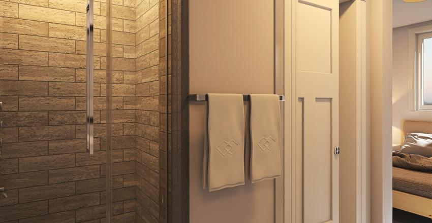 576 Sq Ft Home Interior Design Render