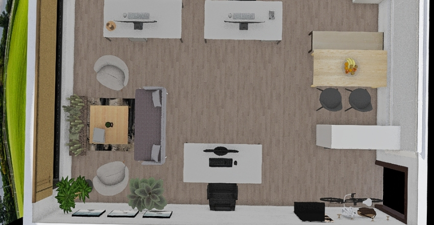 teknokent ofis4 Interior Design Render
