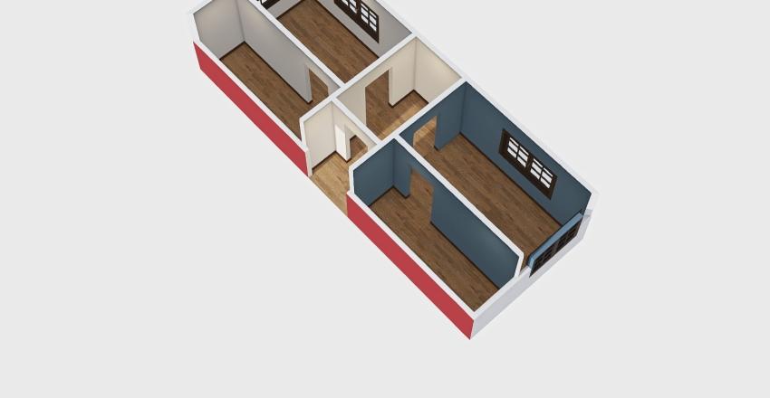 THE CANVAS HOUSE Interior Design Render