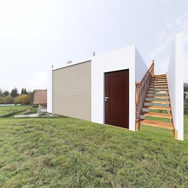Primera planta Local- Apartamento Interior Design Render