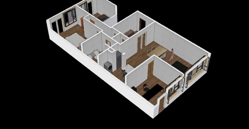 Tervueren 73 Interior Design Render