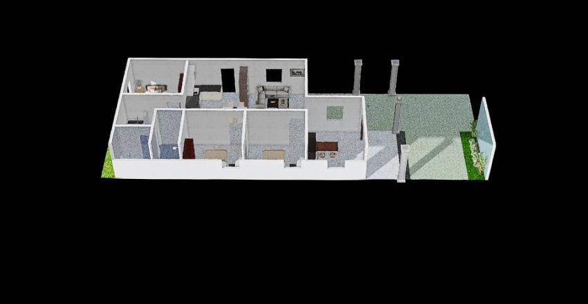 Văn Vinh 7.15*17m Interior Design Render