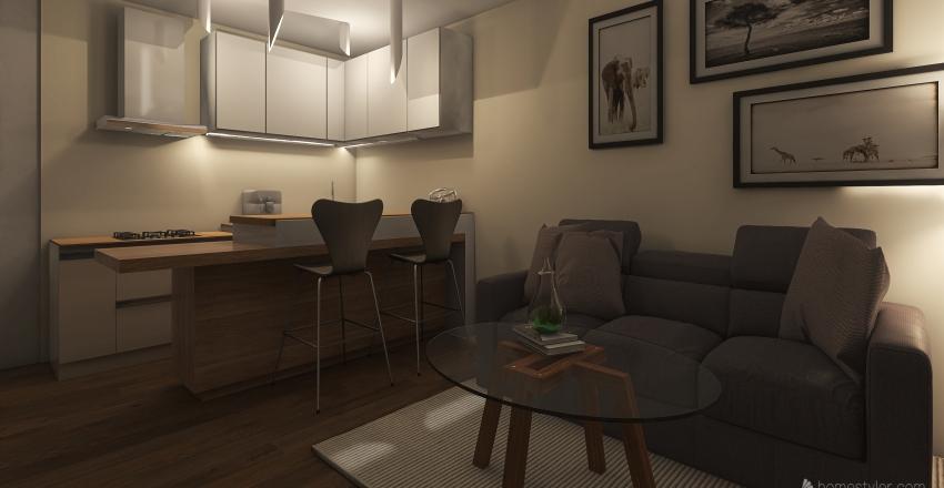 apartment M3 Interior Design Render