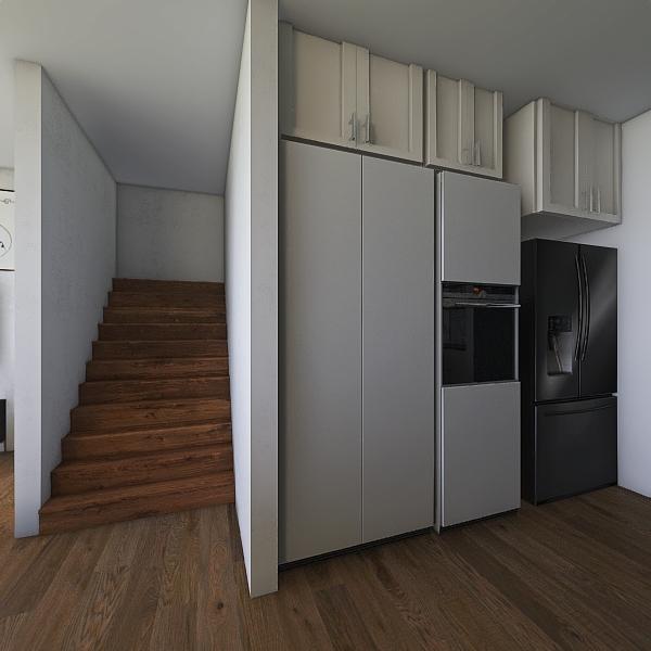 salon+ kuchnia Interior Design Render