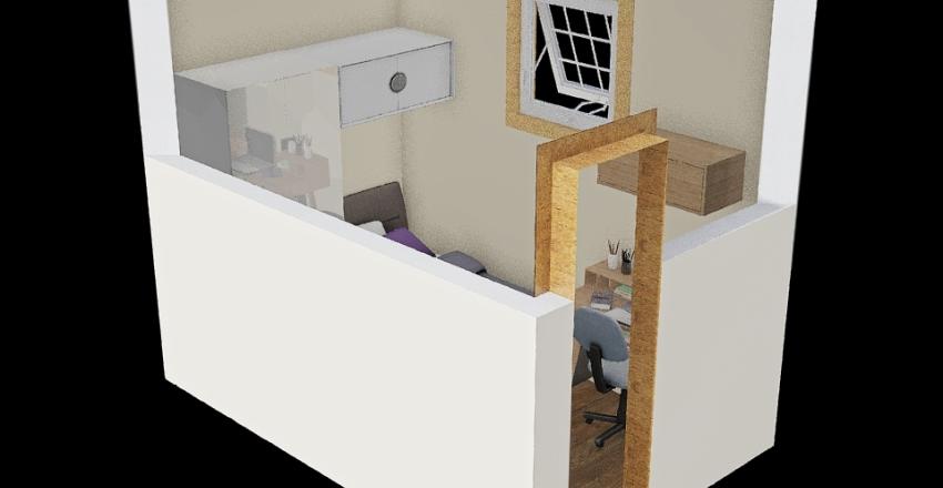 Helena's Bedroom Interior Design Render