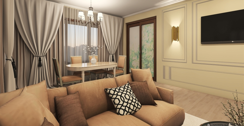 Nicol Residence Interior Design Render