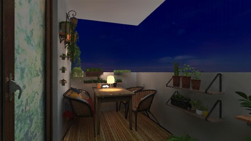 Balcon 1 Interior Design Render