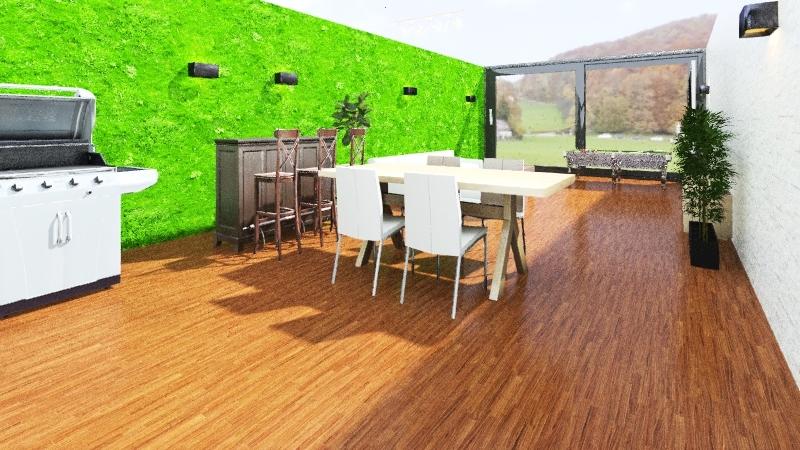 Jardín Interior Design Render
