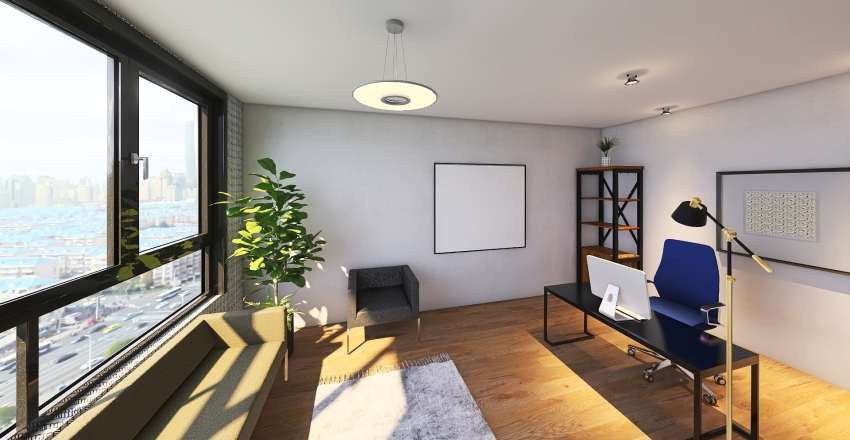 Diseño 9no STEAM Interior Design Render