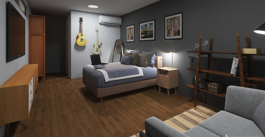 Cuarto PO Interior Design Render